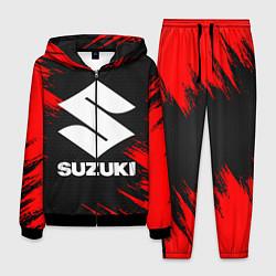 Костюм мужской SUZUKI цвета 3D-черный — фото 1