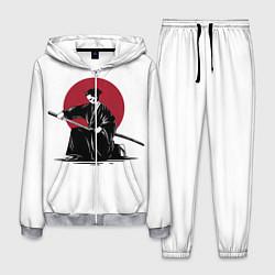 Костюм мужской Японский самурай Z цвета 3D-меланж — фото 1