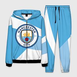 Костюм мужской Manchester City Exlusive цвета 3D-черный — фото 1