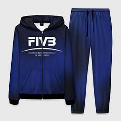 Костюм мужской FIVB Volleyball цвета 3D-черный — фото 1