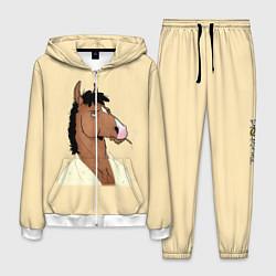 Костюм мужской Конь БоДжек цвета 3D-белый — фото 1