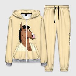 Костюм мужской Конь БоДжек цвета 3D-меланж — фото 1