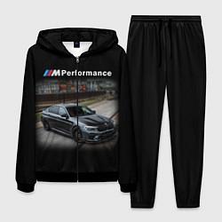 Костюм мужской BMW Z цвета 3D-черный — фото 1