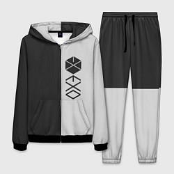 Костюм мужской EXO цвета 3D-черный — фото 1