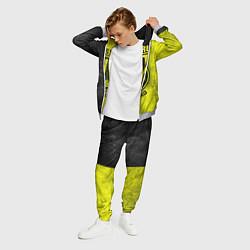 Костюм мужской Borussia Dortmund цвета 3D-меланж — фото 2