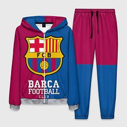 Костюм мужской Barca Football цвета 3D-меланж — фото 1