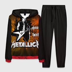 Костюм мужской Metallica: James Hetfield цвета 3D-красный — фото 1
