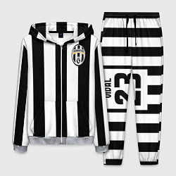 Костюм мужской Juventus: Vidal цвета 3D-меланж — фото 1