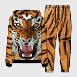 Костюм мужской Взгляд тигра цвета 3D-черный — фото 1