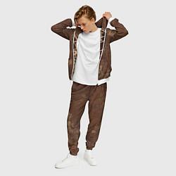 Костюм мужской Ninjas In Pyjamas цвета 3D-белый — фото 2