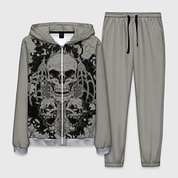 Костюм мужской Skulls цвета 3D-меланж — фото 1