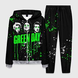 Костюм мужской Green Day: Acid Colour цвета 3D-меланж — фото 1