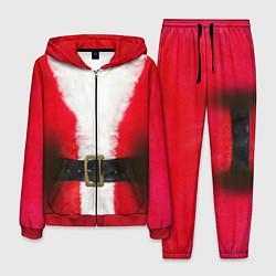 Костюм мужской Дед мороз цвета 3D-красный — фото 1