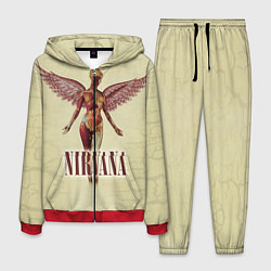 Костюм мужской Nirvana Angel цвета 3D-красный — фото 1