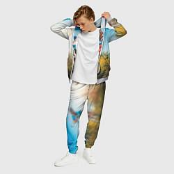 Костюм мужской МТБ цвета 3D-меланж — фото 2