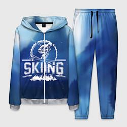 Костюм мужской Лыжный спорт цвета 3D-меланж — фото 1