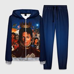 Костюм мужской Michael Jackson: Pop King цвета 3D-меланж — фото 1