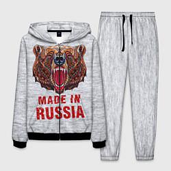 Костюм мужской Bear: Made in Russia цвета 3D-черный — фото 1