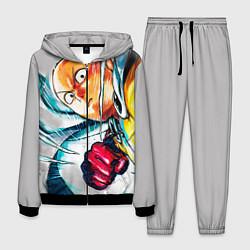 Костюм мужской One Punch Man Rage цвета 3D-черный — фото 1