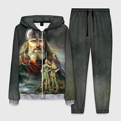 Костюм мужской Богатырь Руси цвета 3D-меланж — фото 1