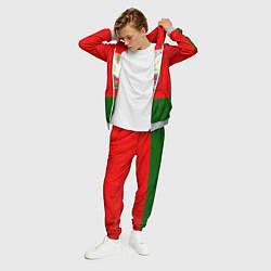 Костюм мужской Герб Беларуси цвета 3D-меланж — фото 2