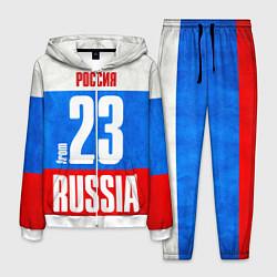 Костюм мужской Russia: from 23 цвета 3D-белый — фото 1