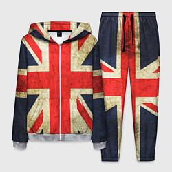 Костюм мужской Великобритания цвета 3D-меланж — фото 1