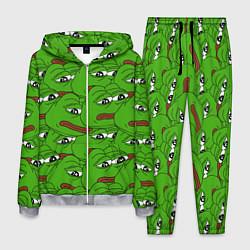 Костюм мужской Sad frogs цвета 3D-меланж — фото 1