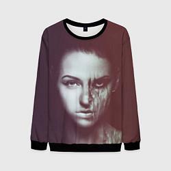Свитшот мужской Chelsea Grin: Death Girl цвета 3D-черный — фото 1
