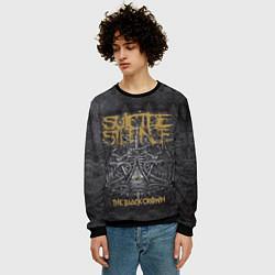 Свитшот мужской Suicide Silence: The Black Crown цвета 3D-черный — фото 2