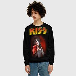 Свитшот мужской KISS: Paul Stanley цвета 3D-черный — фото 2