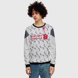 Свитшот мужской FC Liverpool: Salah Alt 18/19 цвета 3D-черный — фото 2