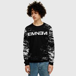 Свитшот мужской EMINEM цвета 3D-черный — фото 2