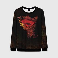 Свитшот мужской Superman цвета 3D-черный — фото 1
