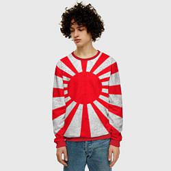 Свитшот мужской Япония цвета 3D-красный — фото 2