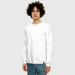 Свитшот хлопковый мужской Lil Wayne цвета белый — фото 2