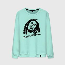 Мужской свитшот Bob Marley: Don't worry