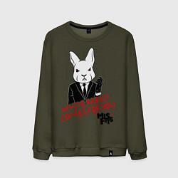 Мужской свитшот Misfits: White rabbit