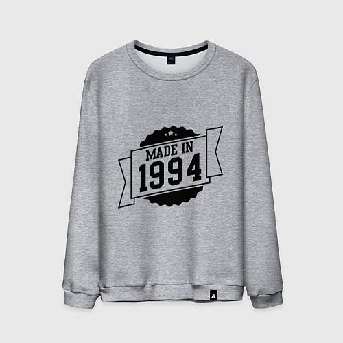 Мужской свитшот Made in 1994 / Меланж – фото 1