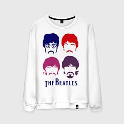 Мужской свитшот The Beatles faces