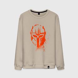Свитшот хлопковый мужской The Armorer The Mandalorian цвета миндальный — фото 1