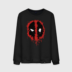 Мужской свитшот Deadpool logo