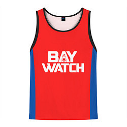 Майка-безрукавка мужская Baywatch Form цвета 3D-черный — фото 1