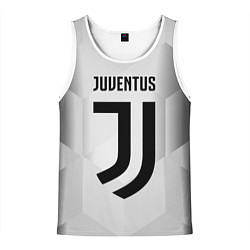 Майка-безрукавка мужская FC Juventus: Silver Original цвета 3D-белый — фото 1