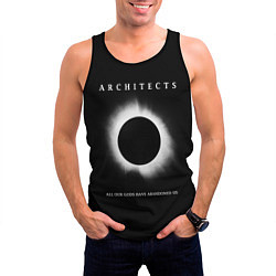 Майка-безрукавка мужская Architects: Black Eclipse цвета 3D-черный — фото 2