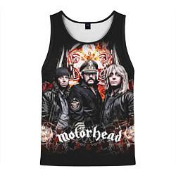 Майка-безрукавка мужская Motorhead Band цвета 3D-черный — фото 1