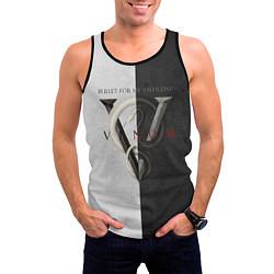 Майка-безрукавка мужская BFMV: Venom Duo цвета 3D-черный — фото 2