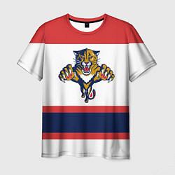 Футболка мужская Florida Panthers цвета 3D-принт — фото 1