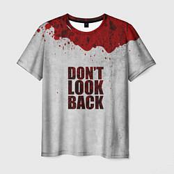 Мужская 3D-футболка с принтом Don't look back, цвет: 3D, артикул: 10108618703301 — фото 1
