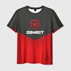 Футболка мужская Gambit Gaming Uniform цвета 3D-принт — фото 1